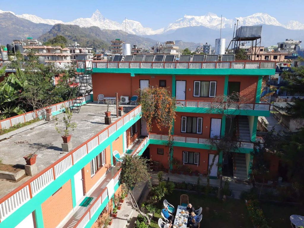 Hotel - New Pokhara Lodge Lakeside